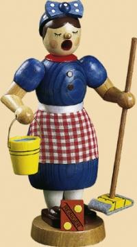 Räucherfrau Putzfrau