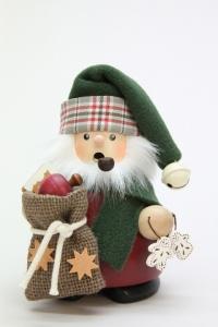 Räuchermann Weihnachtsmann mit Sack