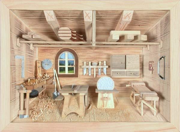 3d bild schreinerei natur. Black Bedroom Furniture Sets. Home Design Ideas