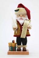 Christian Ulbricht Nussknacker Weihnachtsmann m. Namensliste