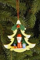 Ulbricht Baumbehang Tanne mit Weihnachtsmann