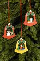 Ulbricht Baumbehang Weihnachtsglocken (sortiert)