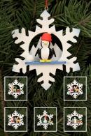 Ulbricht Baumbehang Schneeflocken (sortiert)