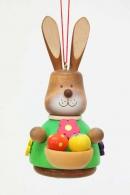 Christian Ulbricht Baumbehang Wackelhase mit Eierkorb