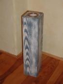 Teelichthalter Tower antik blue