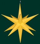 Haßlauer Weihnachtsstern gelb - außen