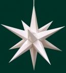 Haßlauer Weihnachtsstern weiß - innen