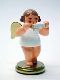 Engel mit Mundharmonika