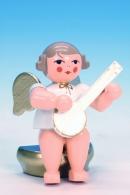 Ulbricht Engel w/g sitzend mit Banjo