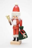 Christian Ulbricht Nussknacker Weihnachtsmann mit Glocke