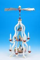 Christian Ulbricht Pyramide 3-stöckig weiss