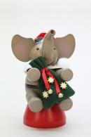 Christian Ulbricht Räuchermann Elefant Weihnachtsmann