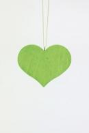 Christian Ulbricht Baumbehang Herz grün