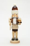 Christian Ulbricht Nussknacker Weihnachtsmann mit Spielzeug natur