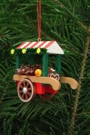 Christian Ulbricht Baumbehang Marktwagen mit Lebkuchen