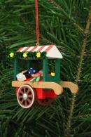 Christian Ulbricht Baumbehang Marktwagen mit Spielzeug